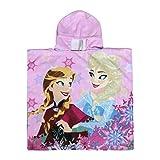 Disney Die Eiskönigin 2200002810 Bademantel, Badeponcho, Strandtuch, Kinder, Elsa, Anna, Olaf