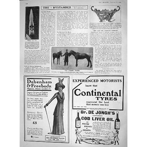 Cuenco De Plata 1909 De Los Caballos De La Policía De La Ciudad De Martin Hampshire