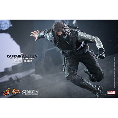 Hot Toys Hot Toys Captain America the Winter Soldier Movie Masterpiece 1:6 Collectible Figure, Multi Color