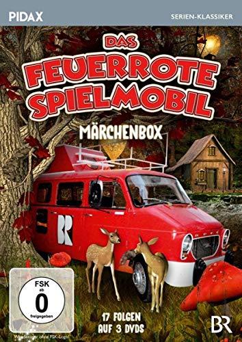 Das feuerrote Spielmobil - Märchenbox (3 DVDs)