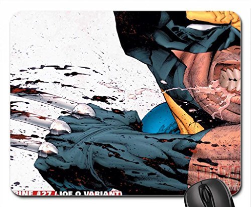 Wolverine Mouse Pad, Mousepad (10.2 x 8.3 x 0.12 inches)
