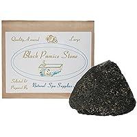 Natural Spa Supplies Volcanic Course Lava Bimsstein, groß, Schwarz preisvergleich bei billige-tabletten.eu