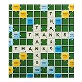 "Hallmark Scrabble Danke Karte ""Viel""–Medium"