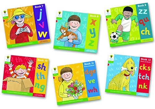 Oxford Reading Tree: Level 2: Floppy's Phonics: Sounds and Letters: Pack of 6