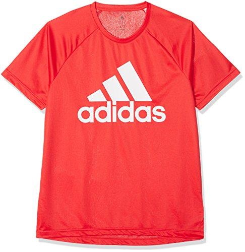 Adidas ce0313, t-shirt uomo, rosso, l