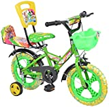 City Star Baby Bicycle With Seat 14 Inches Multi Colour Bike For 3-5 Years Unisex