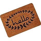 YOUJIA Gummi Türmatte Fußmatte mit Briefe Gedruckt Sauberlaufmatte Rutschfest Eingangsmatte Fußabtreter (Briefe #2, 60*90cm)