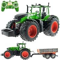 efaso E351 – 003 1: 16 2,4 GHz RC de tractor con remolque
