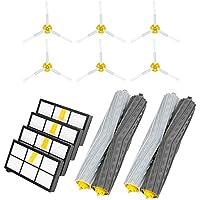 Powilling Repuestos de Accesorios para IRobot Roomba Serie 800 805 860 861 870 871 880 885 890 900 960 980 Kit Cepillos