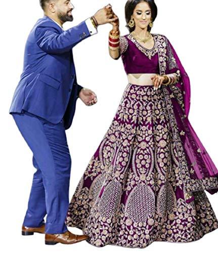 KAMLA FASHION LenghaCholi indische Partei tragen Lehenga Lengha Choli pakistanische Hochzeit Sari -