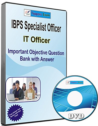 IBPS Specialist Officer - IT Officer Exam, Important Objective Bank with Answer, in English DVD