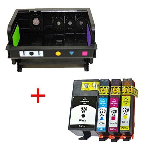 Preisvergleich Produktbild OYAT® 1x CN643A CD868–30001178HP 920XL Druckkopf und HP 920Tintenpatronen kompatibel für HP 6000650070007500B010B110A B010B B109B110B209B210C410A C510a