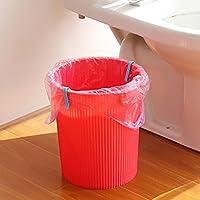 HYZ® 2 clips de plástico para bolsas de basura, soporte de pinza para garaje, latas y clips de basura