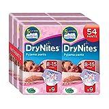 Huggies DryNites Girl hochabsorbierende Pyjamahosen Unterhosen für Mädchen 8-15 Jahre