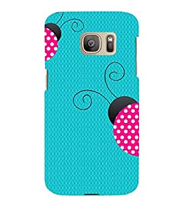 Honey Bee 3D Hard Polycarbonate Designer Back Case Cover for Samsung Galaxy S7 Edge :: Samsung Galaxy S7 Edge Duos G935F
