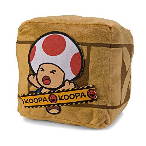 Super Mario Bros Paper Mario Bigbox Cushion - Toad (Mario Bros Toad)