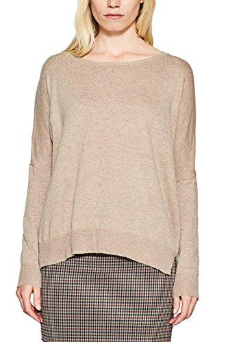 ESPRIT Damen Pullover 117EE1I009, Braun (Taupe 5 244), X-Large