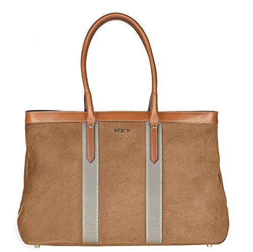 Bric's Life Shopper Tasche I 43 cm camel