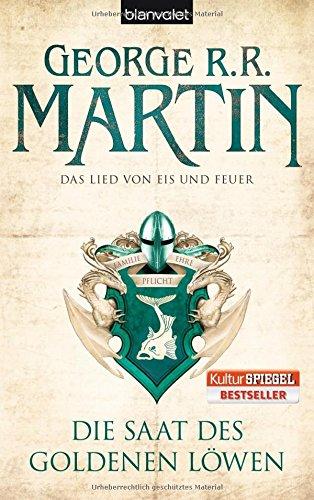 Buchseite und Rezensionen zu 'Die Saat des goldenen Löwen' von George R.R. Martin