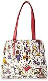 piero guidi Shopping Bag Borsa a spalla Donna, (Bianco), 32x25,5x14 cm (W x H x L)
