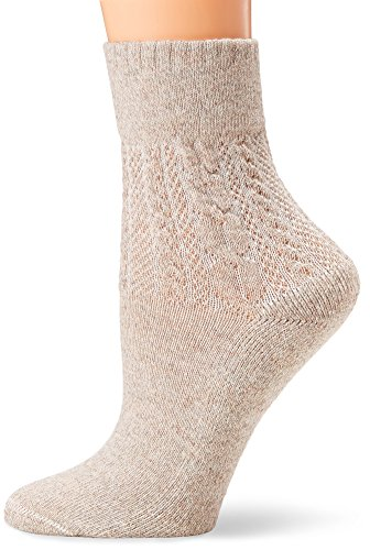 No Nonsense Women's Cable Texture Mini Crew Boot Casual Sock