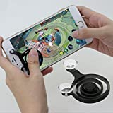 #9: Cablage™ Mobile Game Joystick Phone Rocker Touch Screen Gamepad Joypad Tablet Controller For SmartPhone or Pad (2 Pcs) - MultiColor