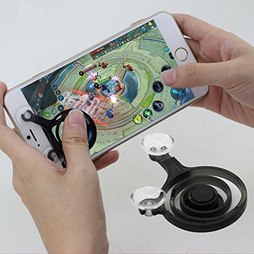 Cablage™ Mobile Game Joystick Phone Rocker Touch Screen Gamepad Joypad Tablet Controller For SmartPhone or Pad - MultiColor  available at amazon for Rs.279