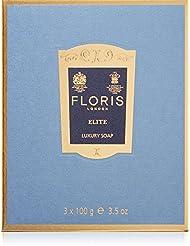 FLORIS LONDON Savon Elite, 3 x 100 g
