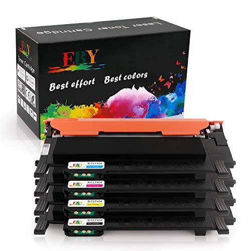 EBY Samsung CLT-P404C CLT-404S (CLT-K404S CLT-C404S CLT-M404S CLT-Y404S) Cartucce toner compatibili per Xpress SL-C480 SL-C480FW SL-C480W SL-C480FN SL-C430 SL-C430W