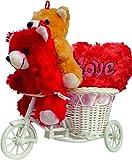 Anishop 2 Cute Teddy With Musical heart ...