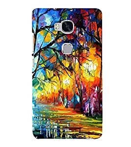PRINTSHOPPII NATURE Back Case Cover for Huawei Honor 5X