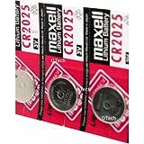Maxell-CR2025-Schönheit Batterie-Knopfzelle CR2025Lithium 3V