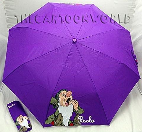 Regenschirm zusammenklappbar Disney sieben Zwerge–Pisolo