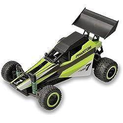 Gizmovine 1: 32 RC Coche de carreras -Alta Velocidad RC Buggy- Rápido, Deriva, Control Estupendo, Uso Interior y exterior (Verde)