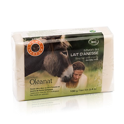 Donkey Milk Soap whit Sheabutter Hypoallergenic unscented - BIO/Ecocert 100g