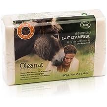 Oléanat - jabón con leche de burra orgánica y sin ...