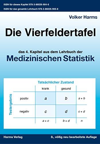 Die Vierfeldertafel: das vierte Kapitel aus dem Lehrbuch Medizinische Statistik