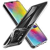 VGUARD Cover Compatibile con Samsung Galaxy M20, Silicone Case Molle di TPU Trasparente Sottile...