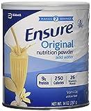 Ensure Nutrition Drink Powder, Vanilla Flavor, 14 oz Can (397 g) by Ensure