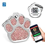 PERDIDUS Hundemarke Shine QR mit NFC und GPS