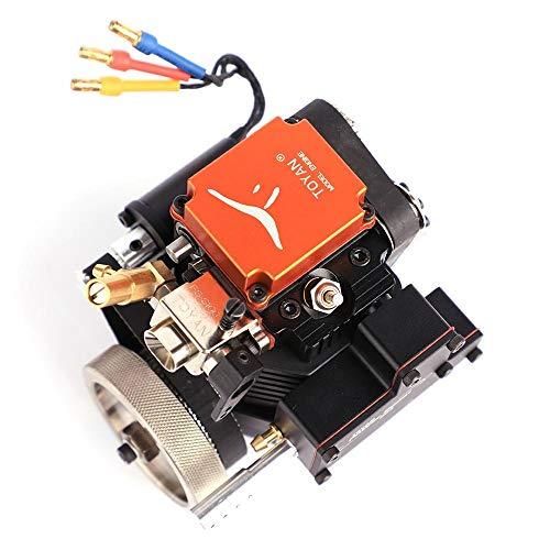 FS-S100 4-/Viertakt-Methanol-Modellmotor für 1:10 1:12 1:14 RC Auto Boot Flugzeug
