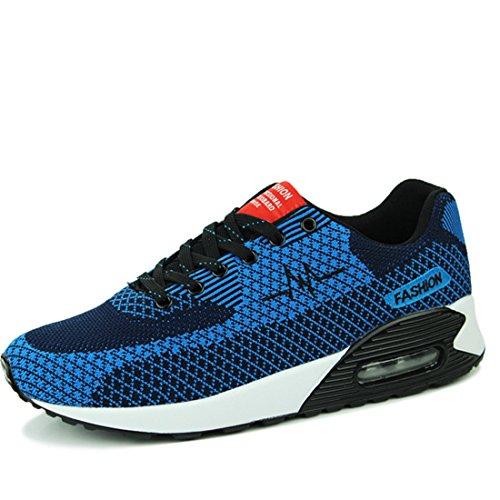 Men's Mesh Barefoot Comfortable Running Shoes green