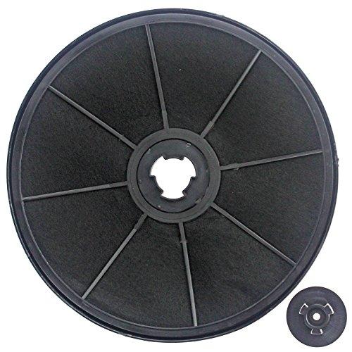 SPARES2GO Carbon Vent de filtre à charbon pour Ariston Cuisinière Hotte
