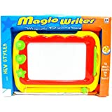 Magic Writer Magnetic Drawing Board Doodle Board Etch A Sketch Pen & Shapes New
