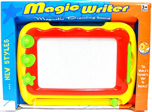 magic-writer-magnetic-drawing-board-doodle-board-etch-a-sketch-pen-shapes-new
