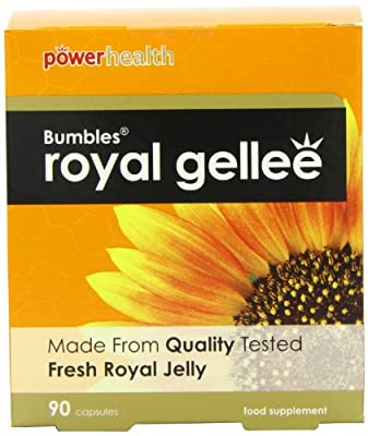 Power Health Bumbles Royal Gellee 500mg - Pack of 90 Capsules from Power Health