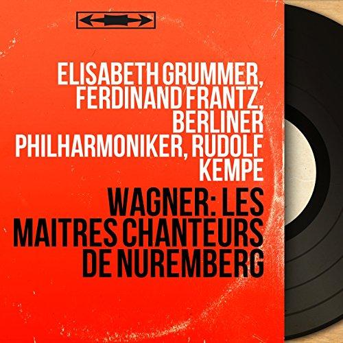 Die Meistersinger von Nürnberg, Act I, Scene 3: