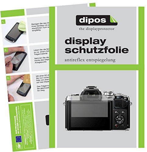 dipos I 6X Schutzfolie matt passend für Olympus OM-D E-M10 Mark III Folie Displayschutzfolie