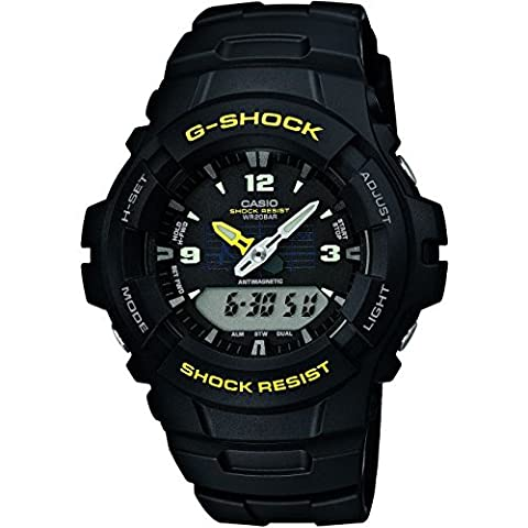 Mens Casio G-Shock Antimagnetic Exclusive Alarm Chronograph Watch G-100-9CMER