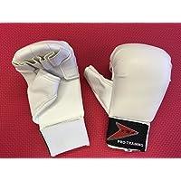 Vader Sports - Mitones Junior de Seguridad para Deportes Full Contact/Karate para Niños - Blanco, Pequeños